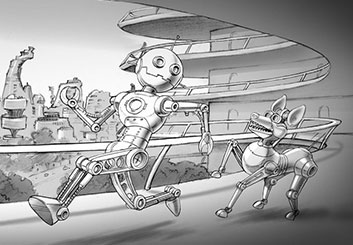 David Larks's Characters / Creatures storyboard art