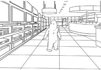 David Larks's Animation storyboard art