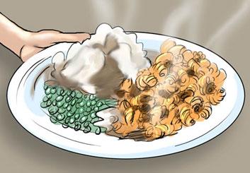 David Larks*'s Food storyboard art