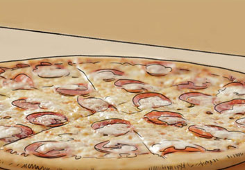 David Larks's Food storyboard art