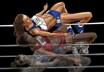 David Larks*'s Sports storyboard art