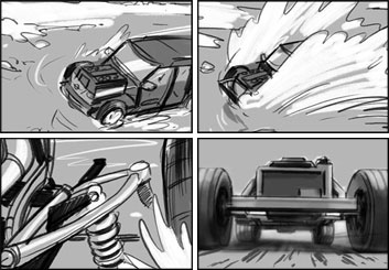 David Larks*'s Shootingboards storyboard art