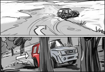 David Larks's Shootingboards storyboard art