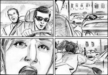 Vincent Lucido*'s Film/TV storyboard art