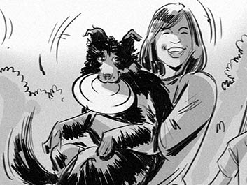 Jeff Norwell's Wildlife / Animals storyboard art