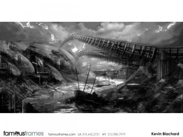 Kevin Blanchard's Concept Environments storyboard art