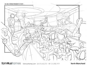 Kevin Blanchard's Conceptual Elements storyboard art