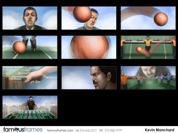 Kevin Blanchard's People - Color  storyboard art