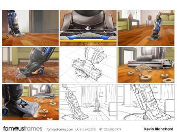 Kevin Blanchard's Products storyboard art