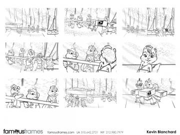 Kevin Blanchard's Shootingboards storyboard art