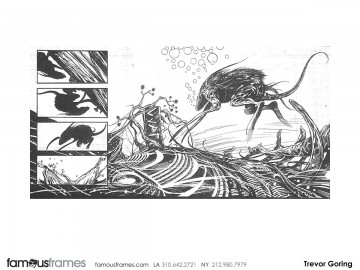 Trevor Goring*'s Conceptual Elements storyboard art