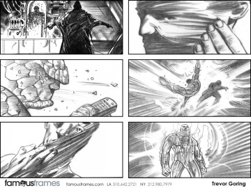 Trevor Goring*'s Film/TV storyboard art