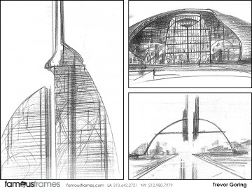 Trevor Goring*'s Architectural storyboard art