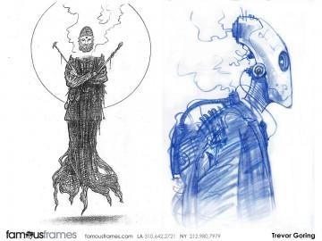 Trevor Goring*'s Characters / Creatures storyboard art