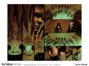 Trevor Goring*'s Comic Book storyboard art