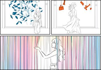 Alessandra Divizia's Conceptual Elements storyboard art