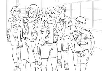 Alessandra Divizia's Kids storyboard art