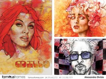 Alessandra Divizia's Likenesses storyboard art
