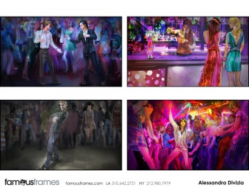 Alessandra Divizia's People - Color  storyboard art