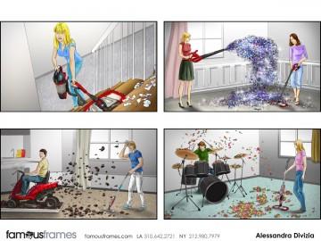 Alessandra Divizia's People - Color  storyboard art