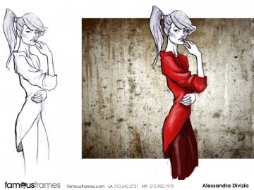 Alessandra Divizia's Characters / Creatures storyboard art