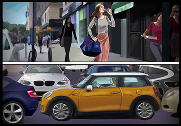 Alessandra Divizia's Vehicles showcase art