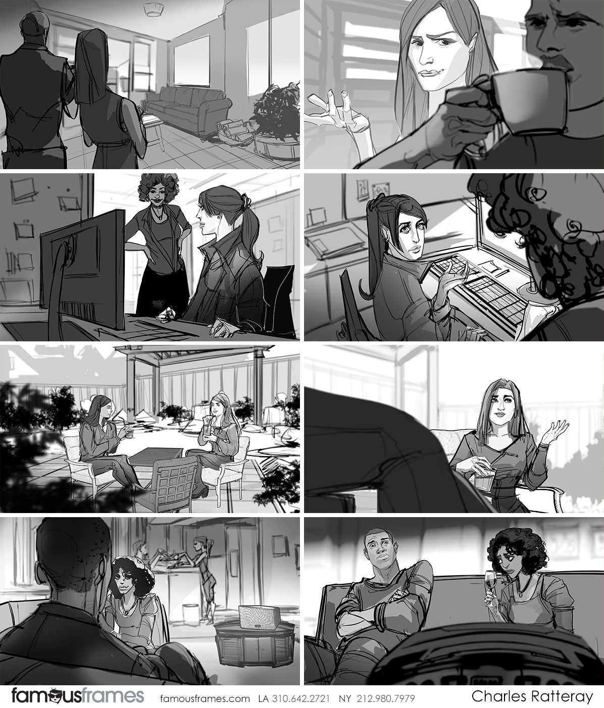 Charles Ratteray*'s People - B&W Tone storyboard art (Image #34_113_1529539592)