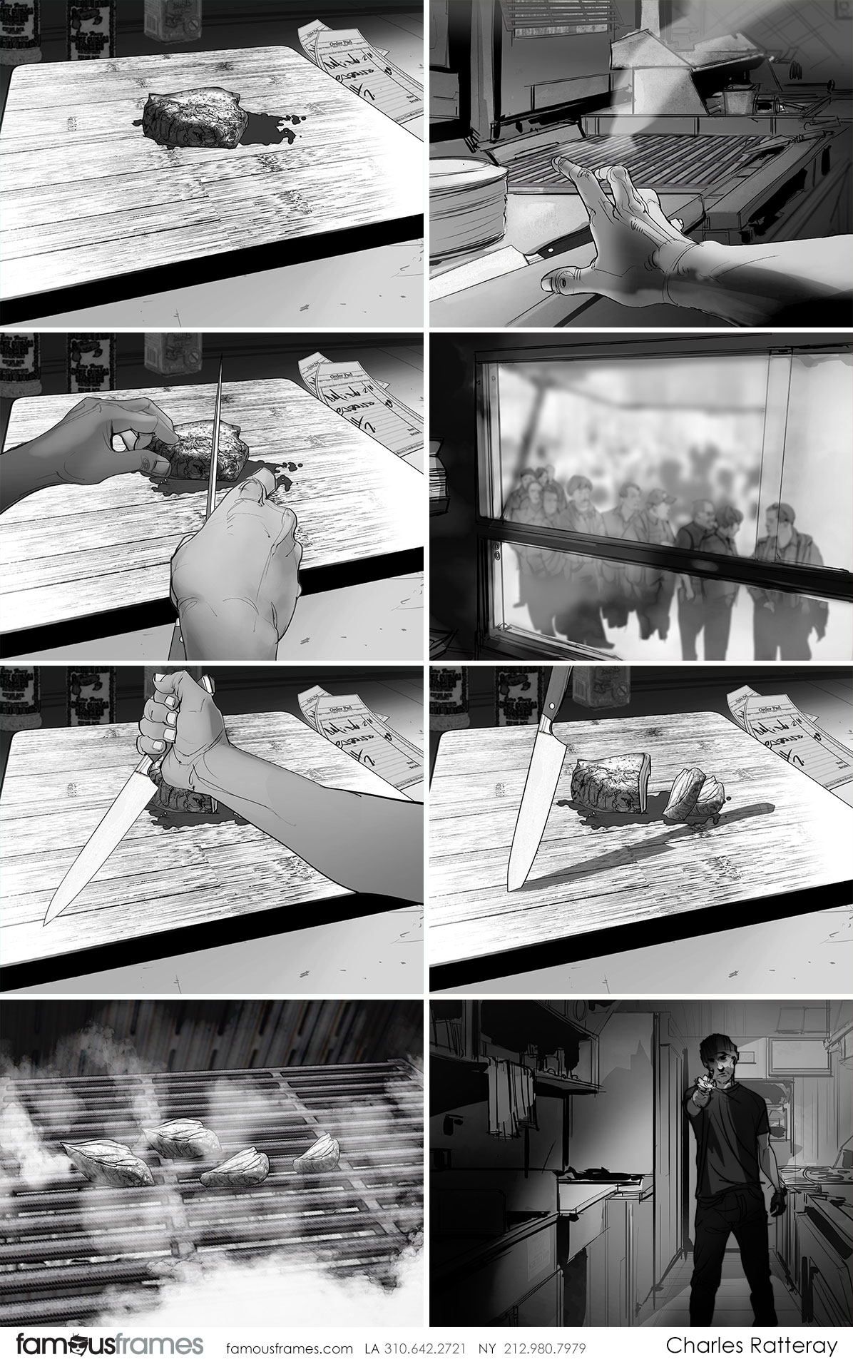 Charles Ratteray*'s People - B&W Tone storyboard art (Image #34_113_1529539685)