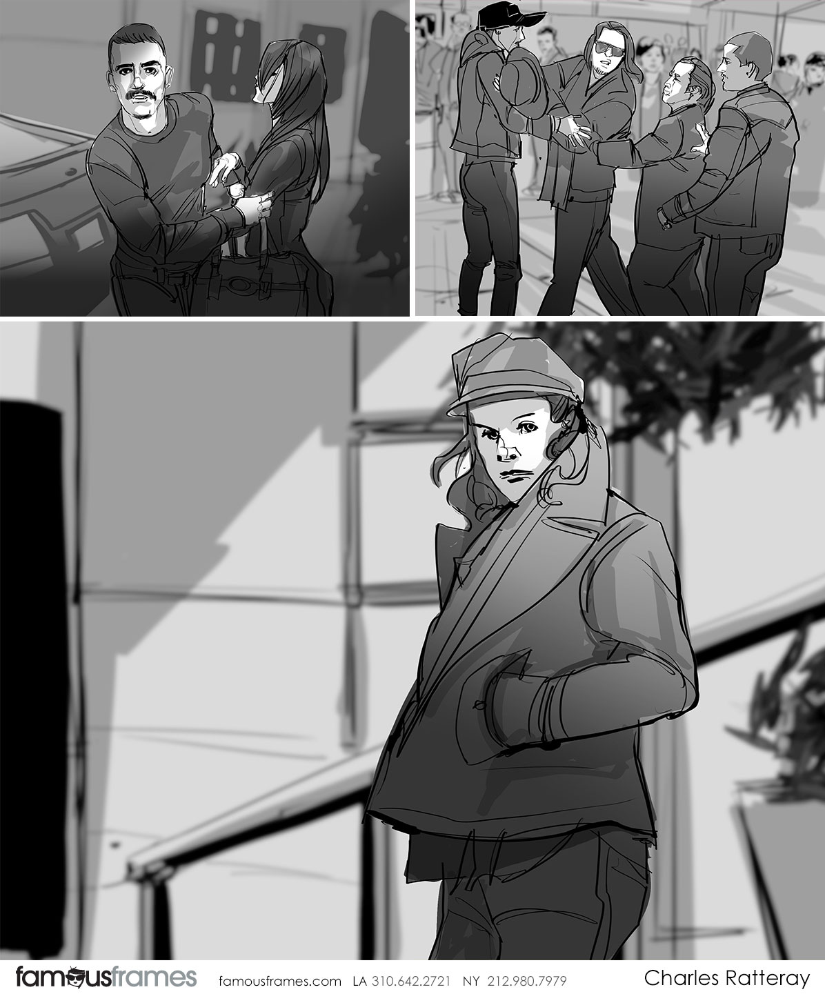 Charles Ratteray*'s People - B&W Tone storyboard art (Image #34_113_1529539929)