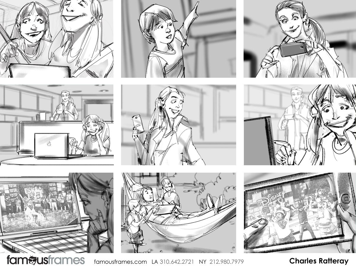 Charles Ratteray*'s People - B&W Line storyboard art (Image #34_114_1399058697)