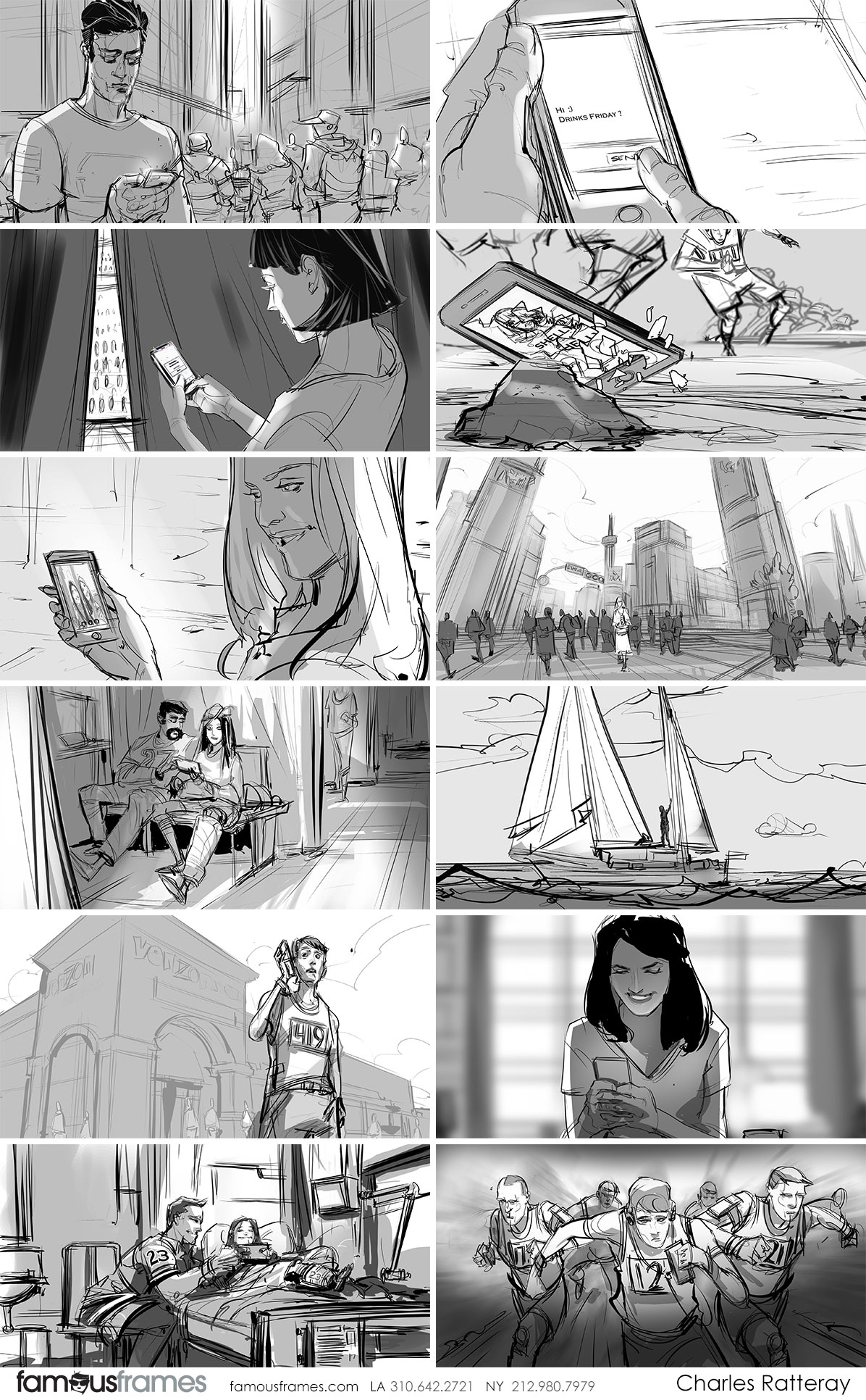 Charles Ratteray*'s People - B&W Line storyboard art (Image #34_20_1485886992)