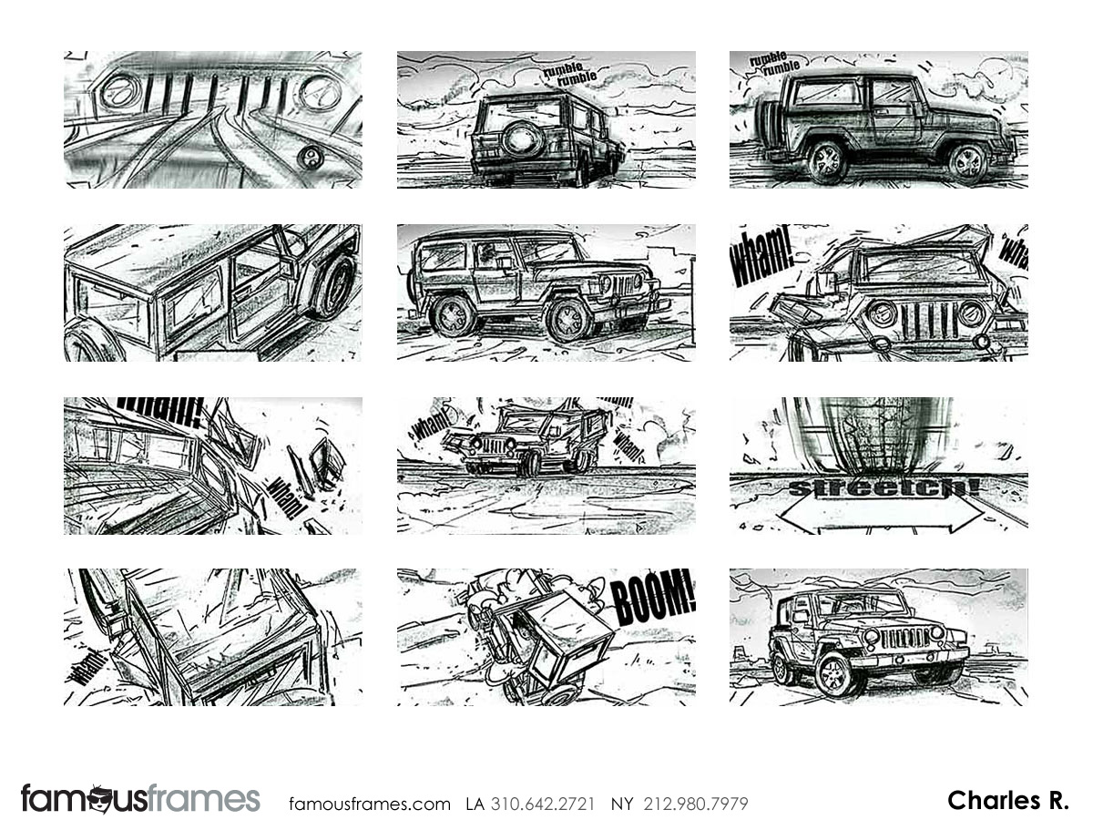 Charles Ratteray*'s Shooting Vehicles storyboard art (Image #34_24_1326143584)
