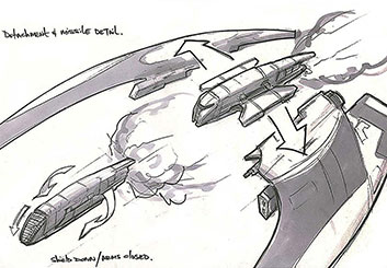 Charles Ratteray*'s Concept Vehicles storyboard art