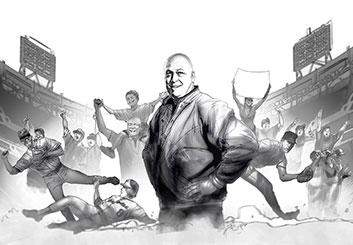 Charles Ratteray*'s People - B&W Tone storyboard art