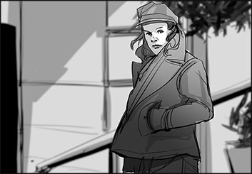 Charles Ratteray*'s People - B&W Tone storyboard art