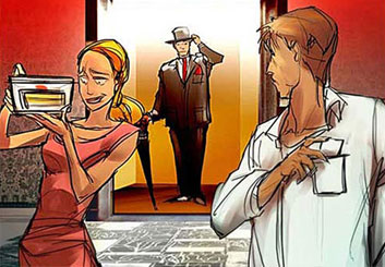 Charles Ratteray*'s People - Color  storyboard art