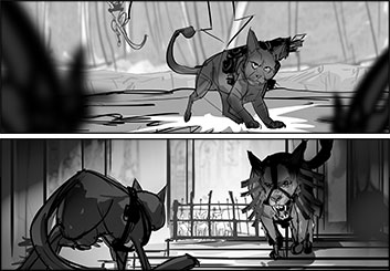Charles Ratteray*'s Wildlife / Animals storyboard art
