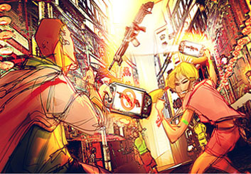 Charles Ratteray*'s Action storyboard art