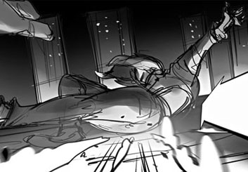 Charles Ratteray*'s Action storyboard art