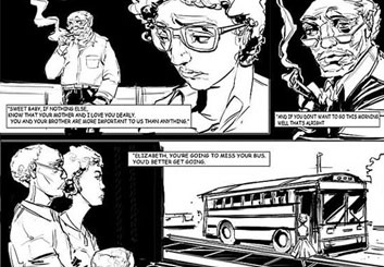 Charles Ratteray*'s Comic Book storyboard art