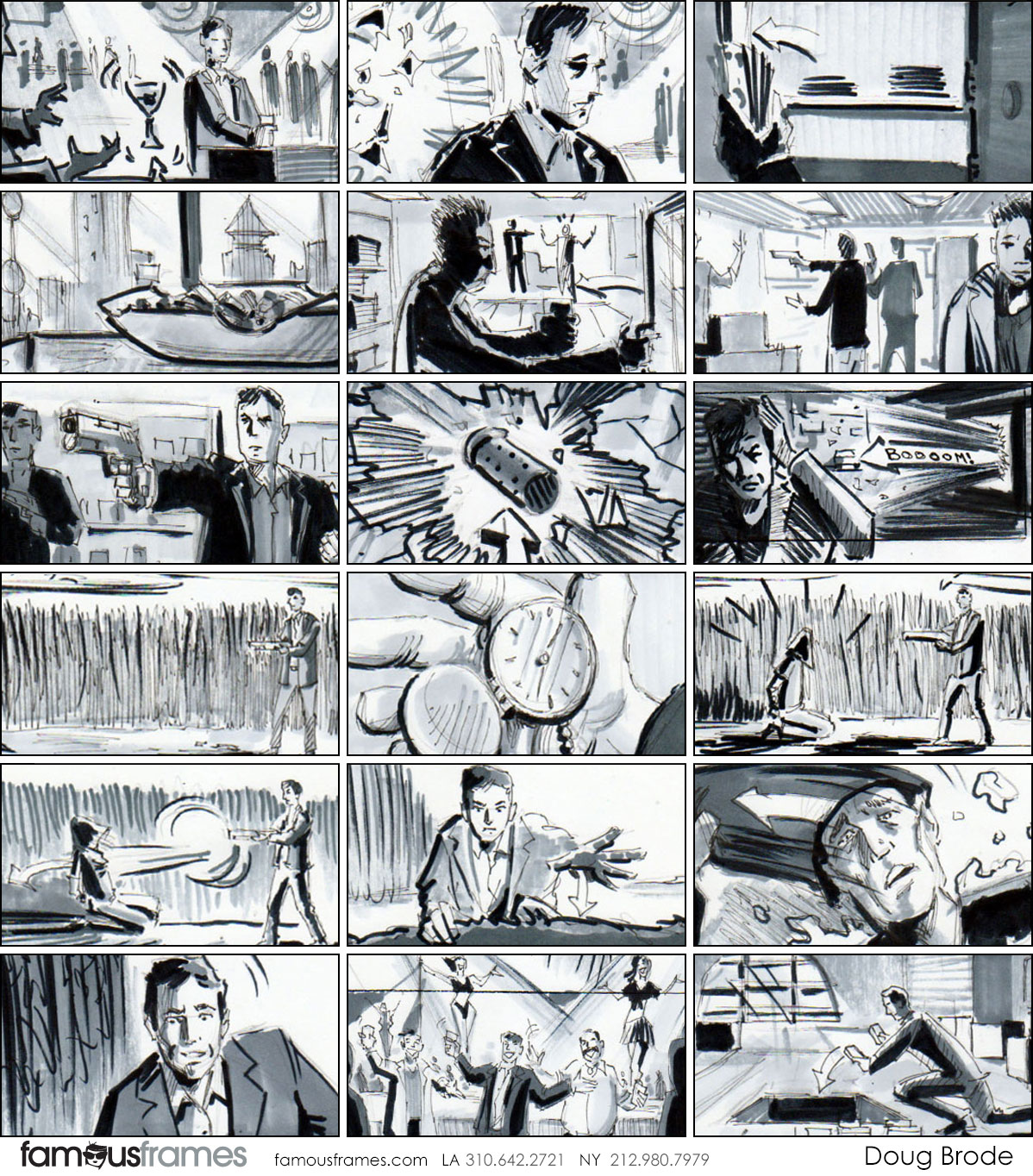 Doug Brode*'s Shootingboards storyboard art (Image #381_22_1603740224)