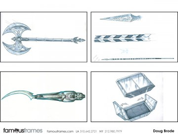 Doug Brode*'s Conceptual Elements storyboard art