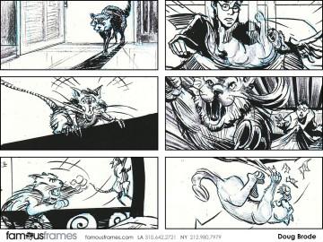 Doug Brode*'s Film/TV storyboard art