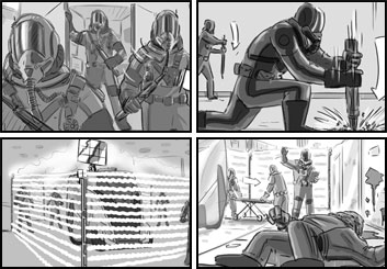 Doug Brode*'s Film/TV storyboard art