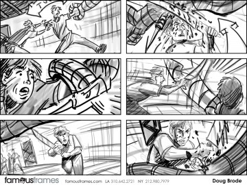 Doug Brode*'s Shootingboards storyboard art