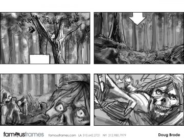 Doug Brode*'s Shootingboards storyboard art