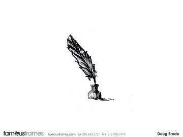Doug Brode*'s Illustration storyboard art