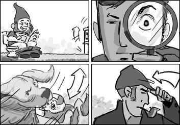 Doug Brode*'s Characters / Creatures storyboard art
