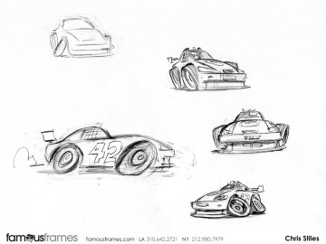 Chris Stiles's Concept Vehicles storyboard art