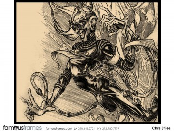Chris Stiles's Illustration storyboard art